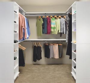 Captivating Closet Shelving