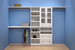 Products closets woodtrac by sauder for Woodtrac closets