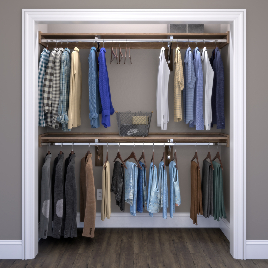 Closet Gallery Closets WoodTrac by Sauder