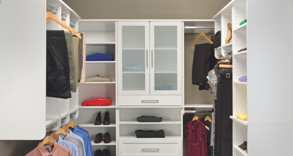 Closets woodtrac by sauder for Woodtrac closets