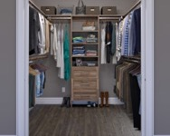 Closet gallery closets woodtrac by sauder for Woodtrac closets