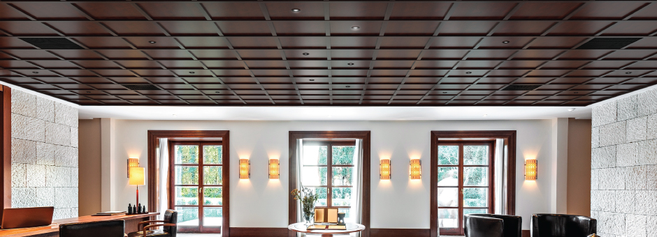 <h3>Add depth to any Drop Ceiling</h3>